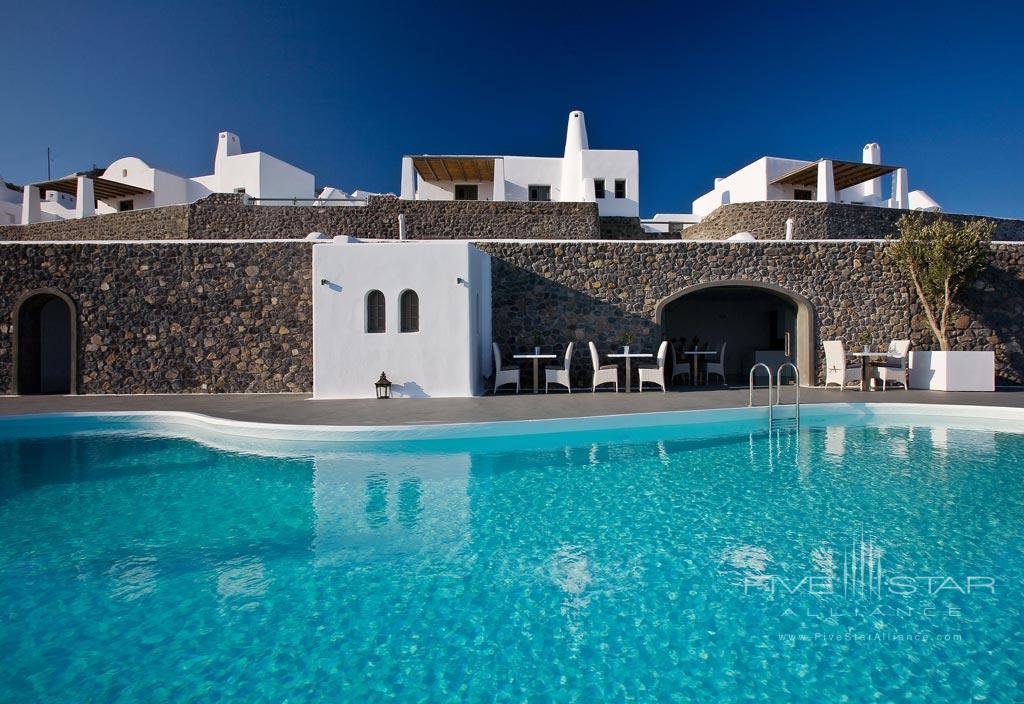 Outdoor Pool at Carpe Diem Santorini, Greece