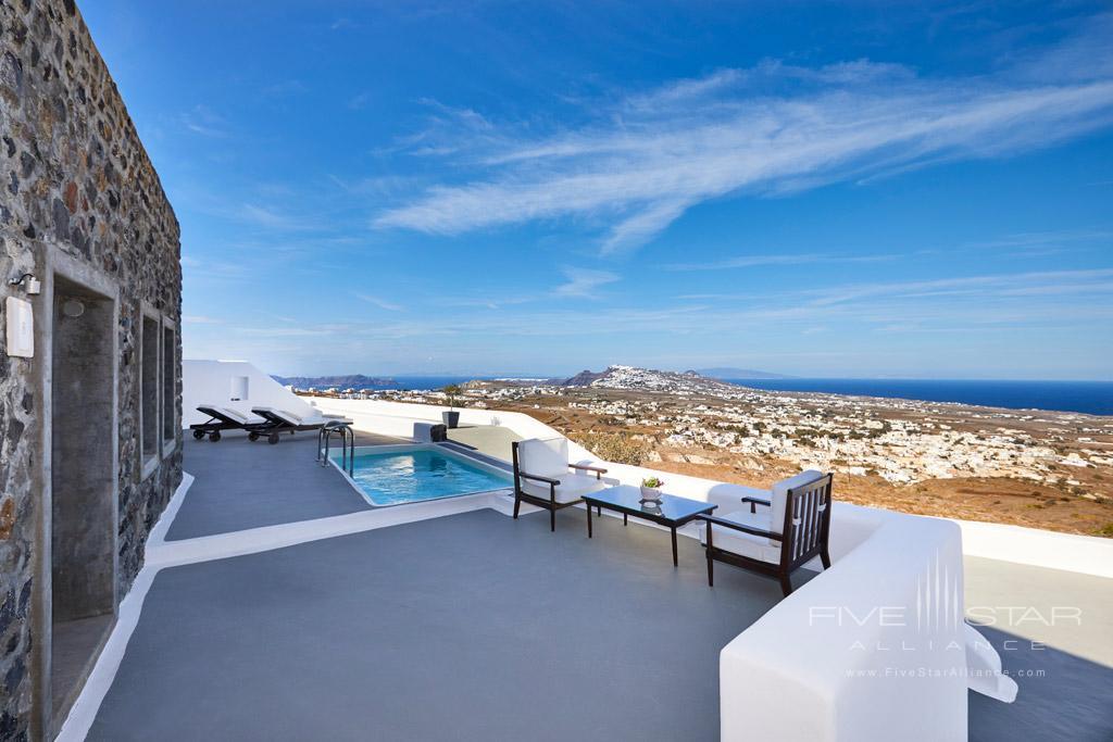 Terrace Lounge at Carpe Diem Santorini, Greece