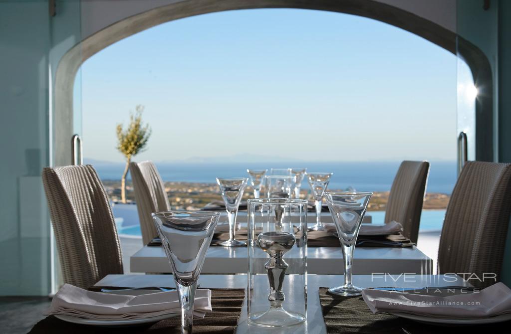 Dine at Carpe Diem Santorini, Greece