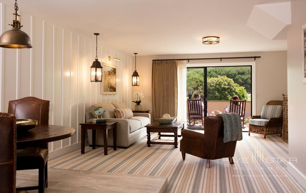 Cottage Living Room at The Ranch at Laguna Beach, California