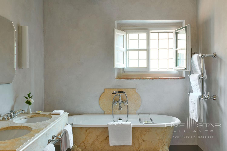 Estate Bath at COMO Castello Del Nero, Florence, Italy