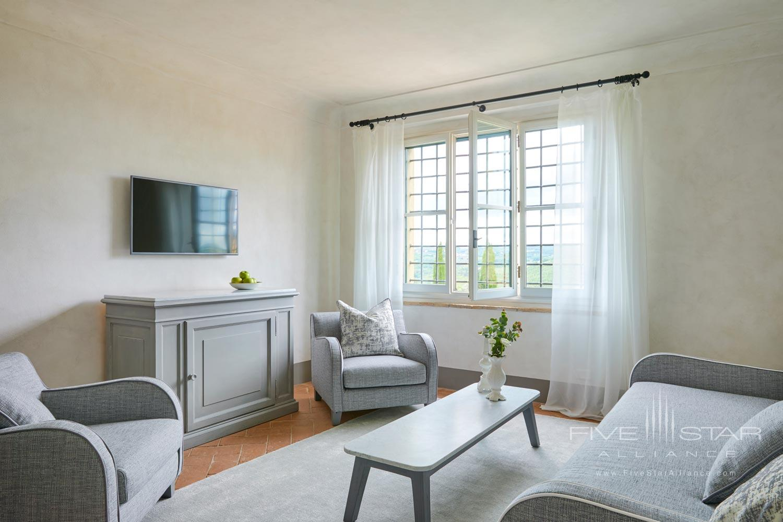 Suite Living at COMO Castello Del Nero, Florence, Italy