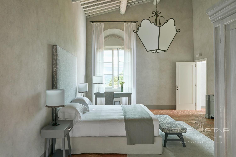 Terrace Guest Room at COMO Castello Del Nero, Florence, Italy