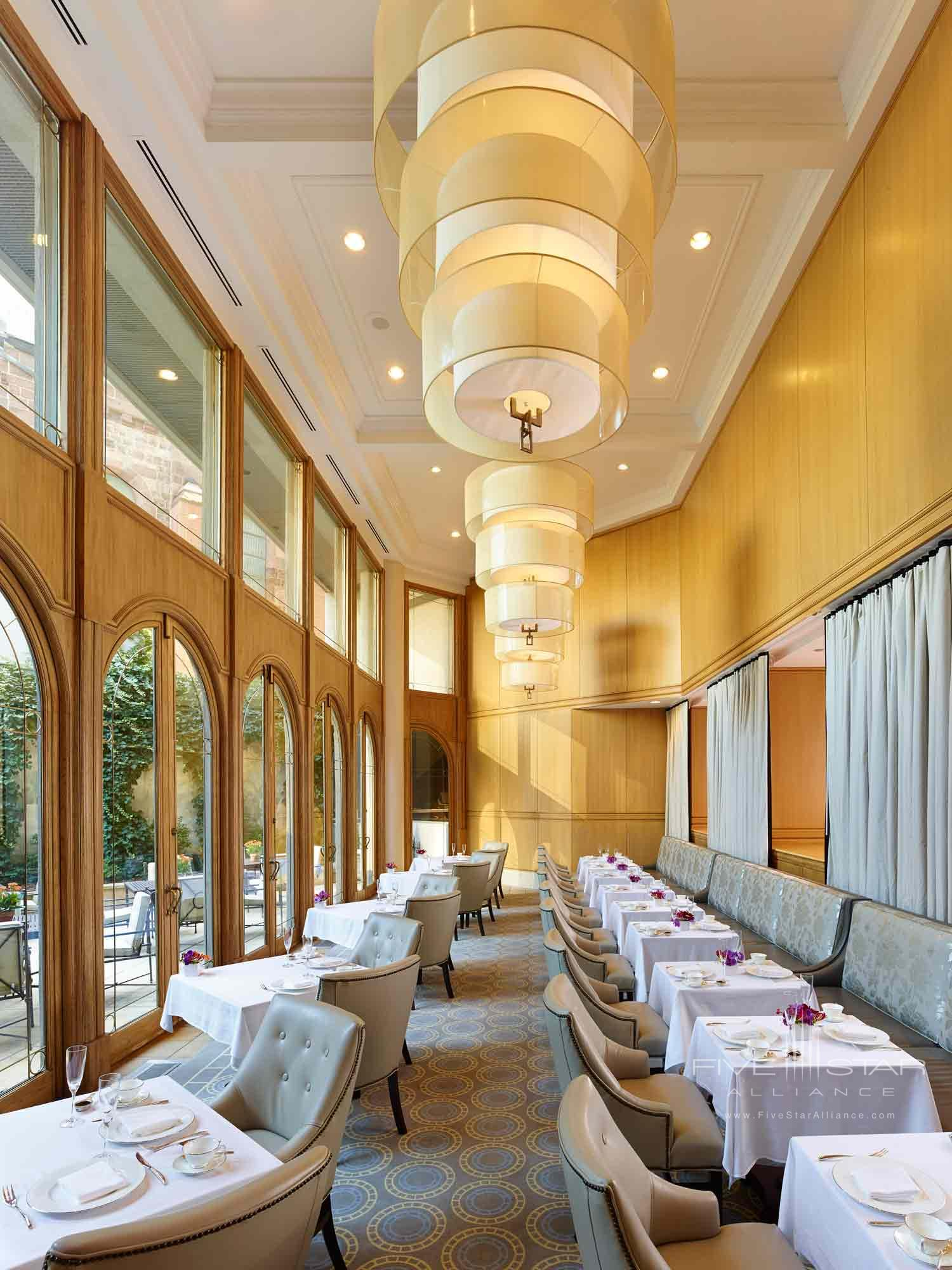 Tea Room at Rittenhouse Hotel, Philadelphia, PA