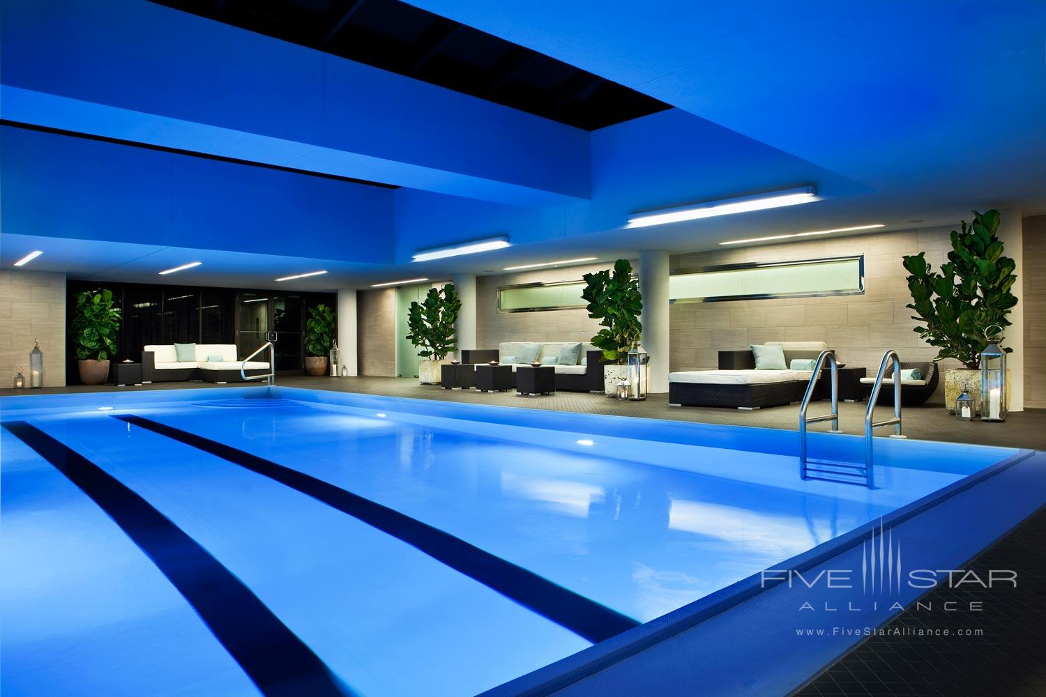 Indoor Pool at Rittenhouse Hotel, Philadelphia, PA