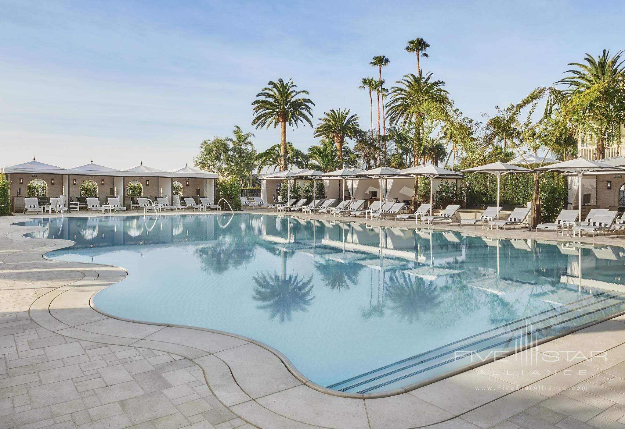 Cabana Pool at Rosewood Miramar Beach Montecito