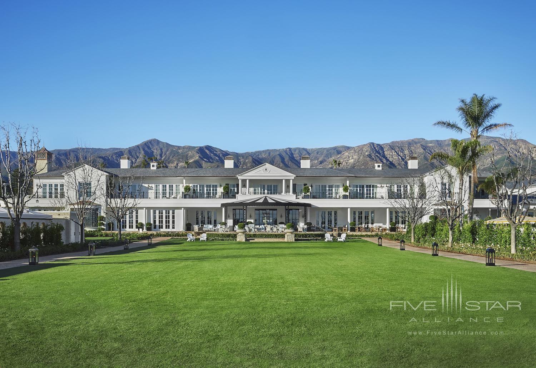 Manor House Great Lawn at Rosewood Miramar Beach Montecito