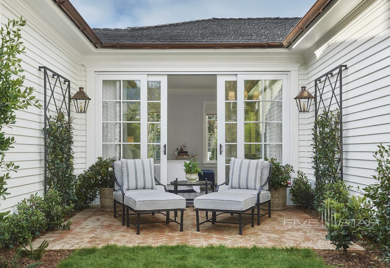 Garden Bungalow King Terrace at Rosewood Miramar Beach Montecito