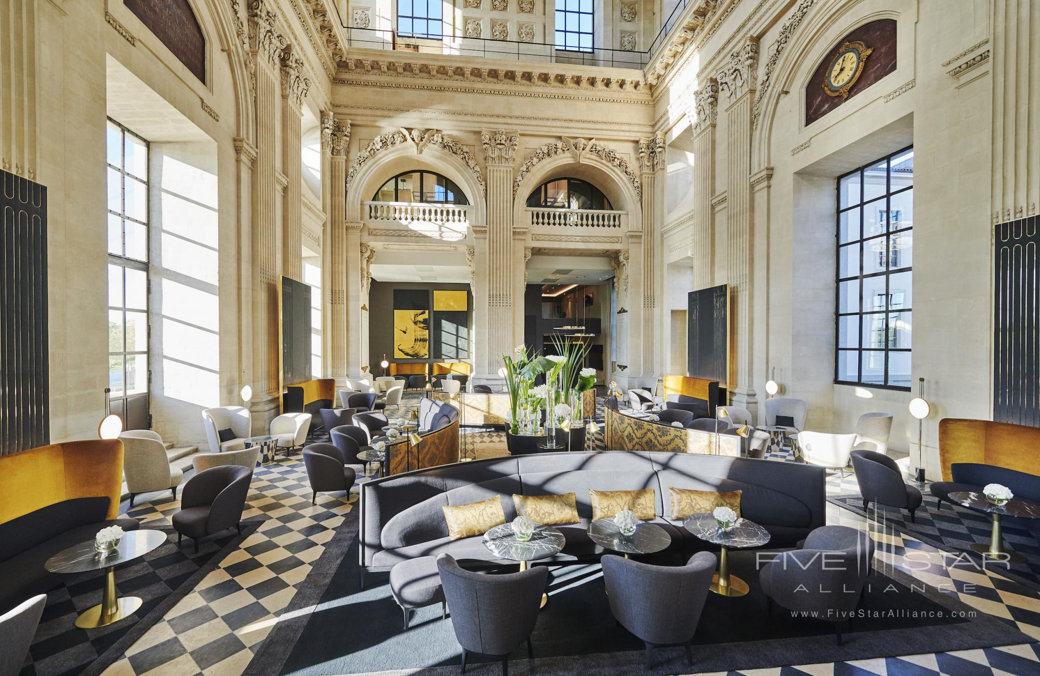 Lobby of InterContinental Lyon - Hotel Dieu
