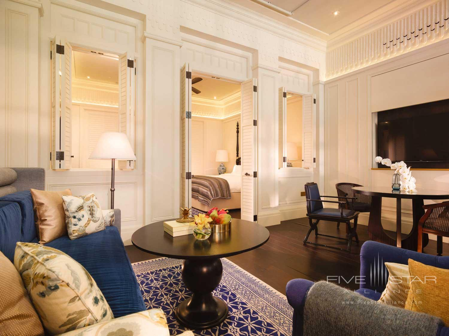Suite Living at Raffles Hotel Singapore, SINGAPORE, SINGAPORE