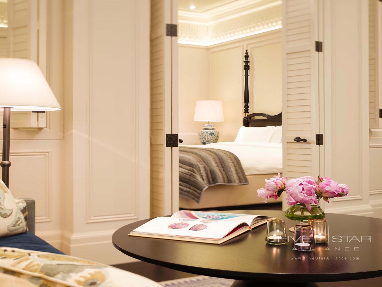 Guest Room at Raffles Hotel Singapore, SINGAPORE, SINGAPORE