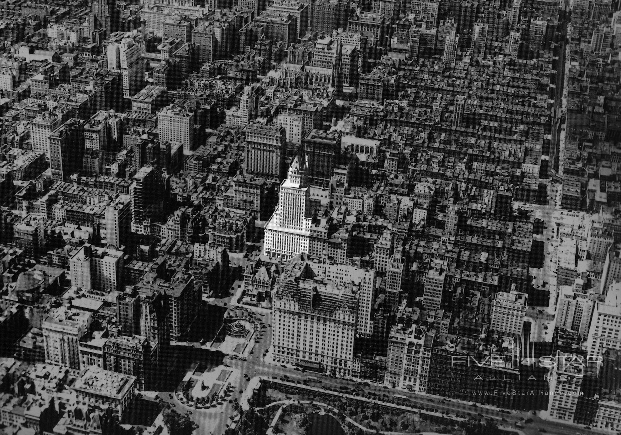 1925 View of the Crown Building in Midtown Manhattan