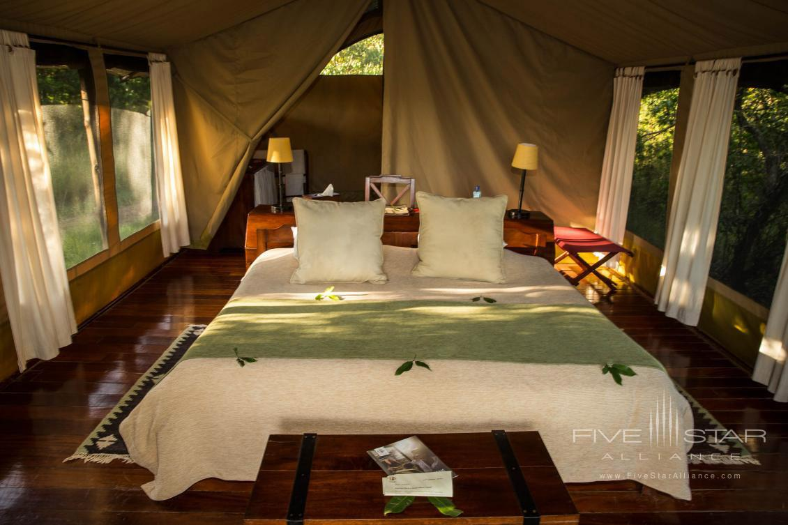 Guest Room at Karen Blixen Camp, Maasai Mara, Kenya