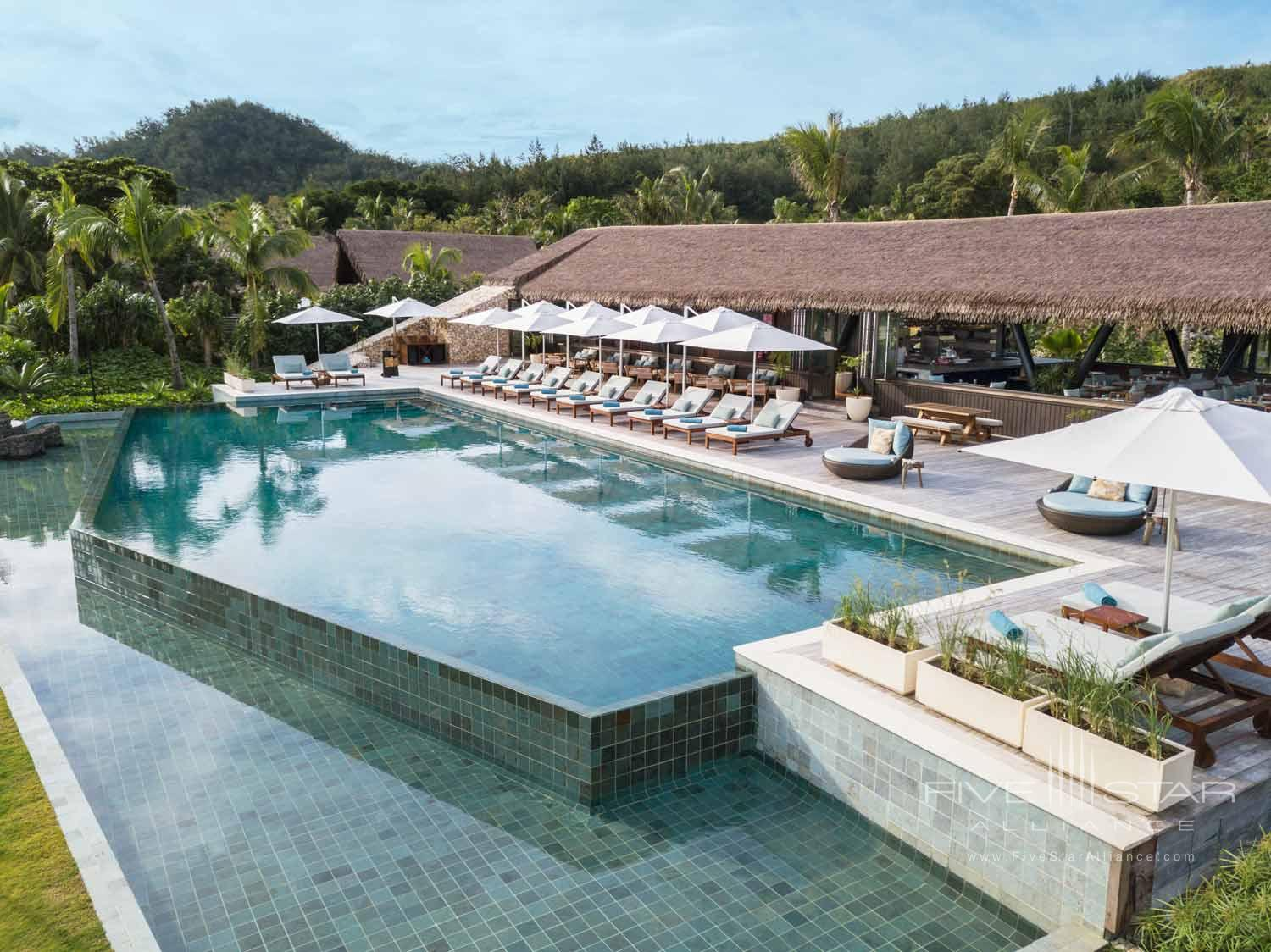 Outdoor Pool at Six Senses Fiji, MALOLO ISLAND, FIJI ISLANDS