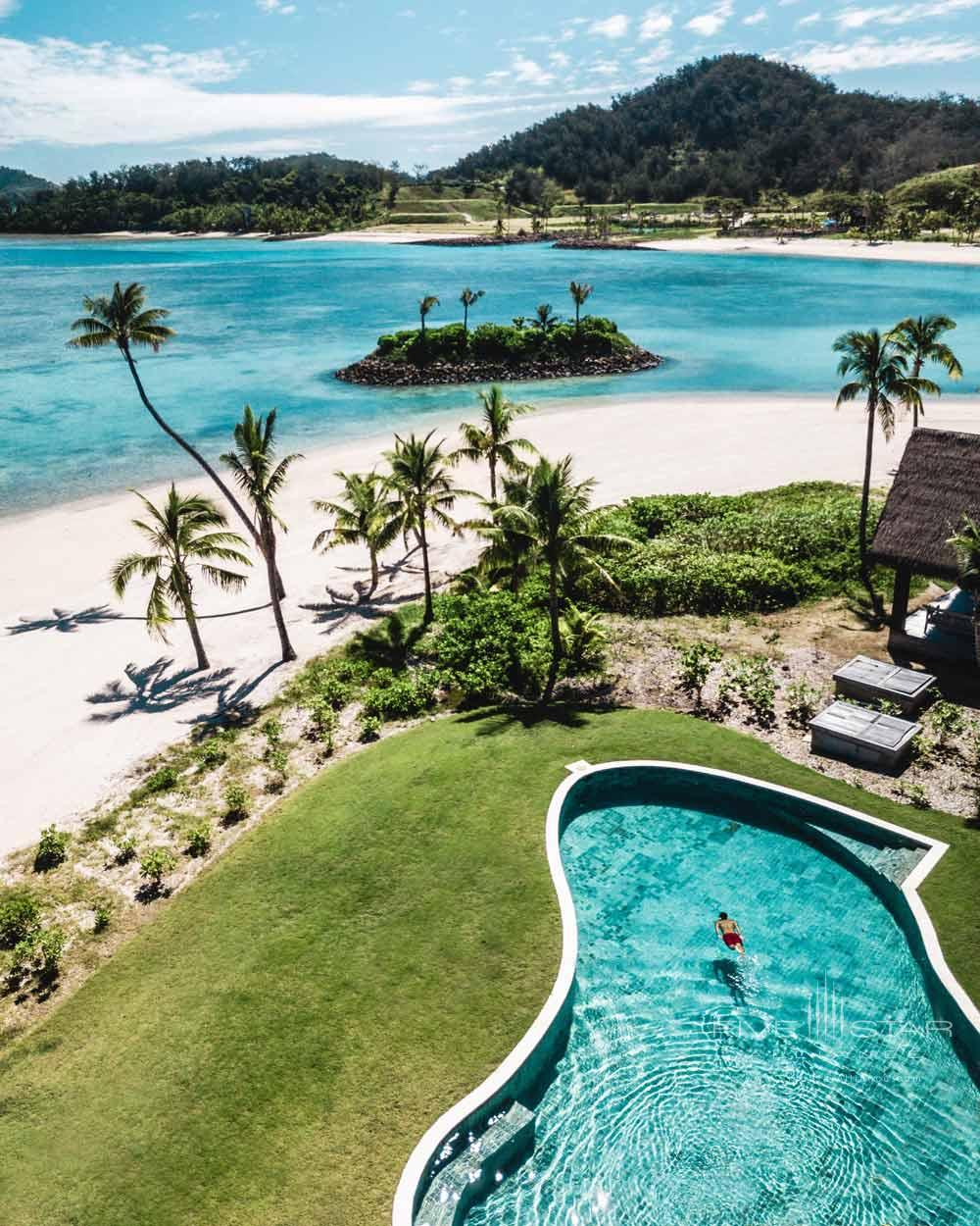 Beach Front Pool at Six Senses Fiji, MALOLO ISLAND, FIJI ISLANDS