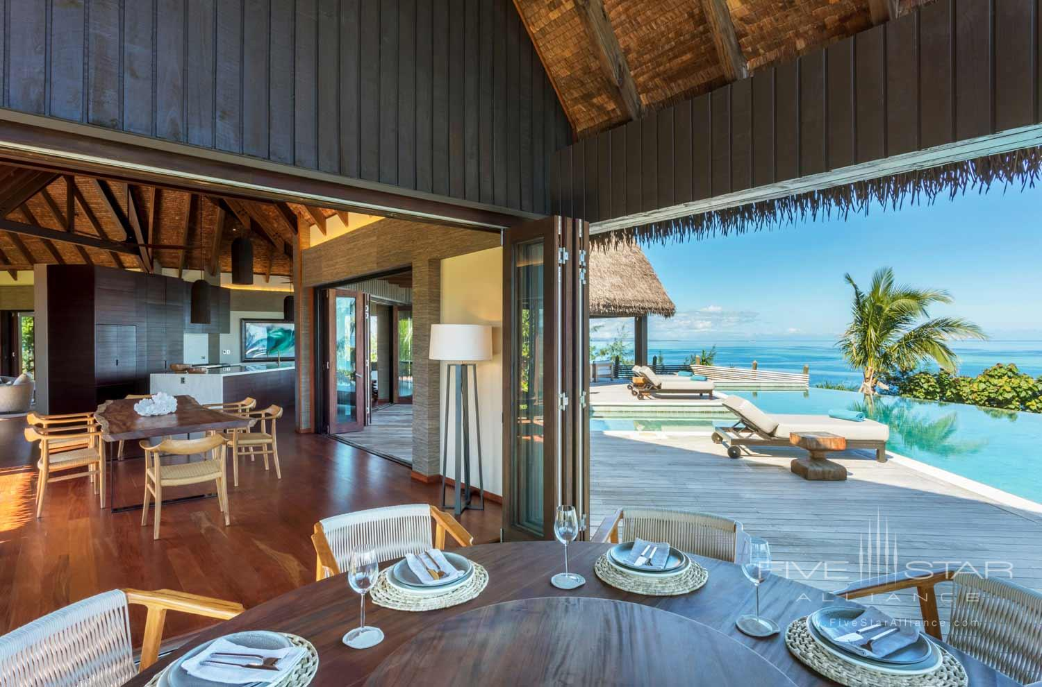 Ocean View Residence at Six Senses Fiji, MALOLO ISLAND, FIJI ISLANDS