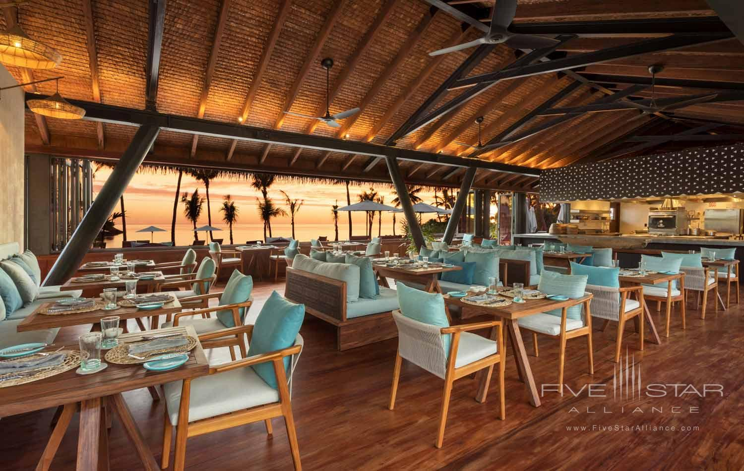 Tovolea Restaurant at Six Senses Fiji, MALOLO ISLAND, FIJI ISLANDS