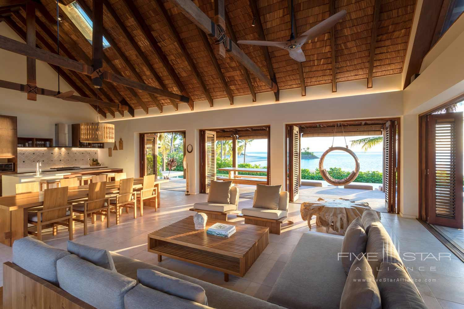 Two Bedroom Beach Front Pool Villa at Six Senses Fiji, MALOLO ISLAND, FIJI ISLANDS