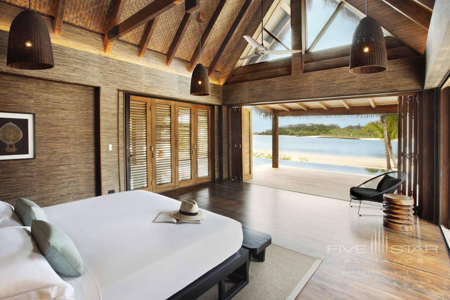 Beachfront Guest Room at Six Senses Fiji, MALOLO ISLAND, FIJI ISLANDS