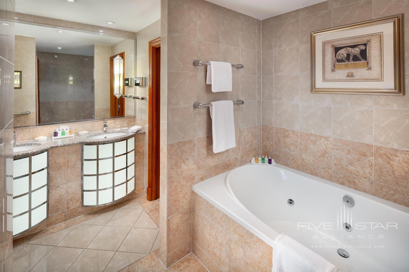 Presidential Suite Bath at Alcron Hotel Prague, PRAGUE, CZECH REPUBLIC