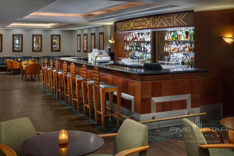 Bar at Alcron Hotel Prague, PRAGUE, CZECH REPUBLIC