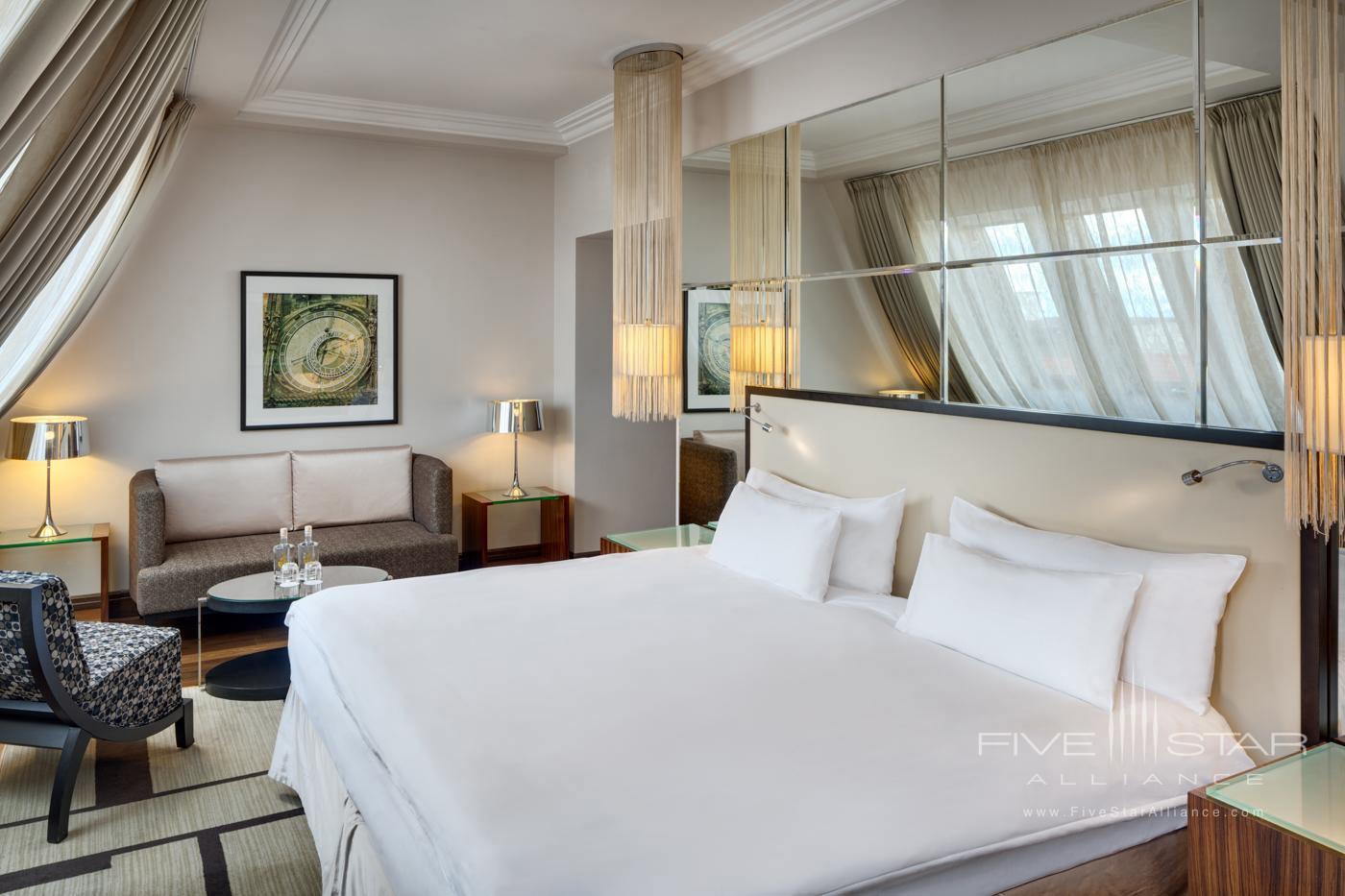Castle View Guest Room at Alcron Hotel Prague, PRAGUE, CZECH REPUBLIC