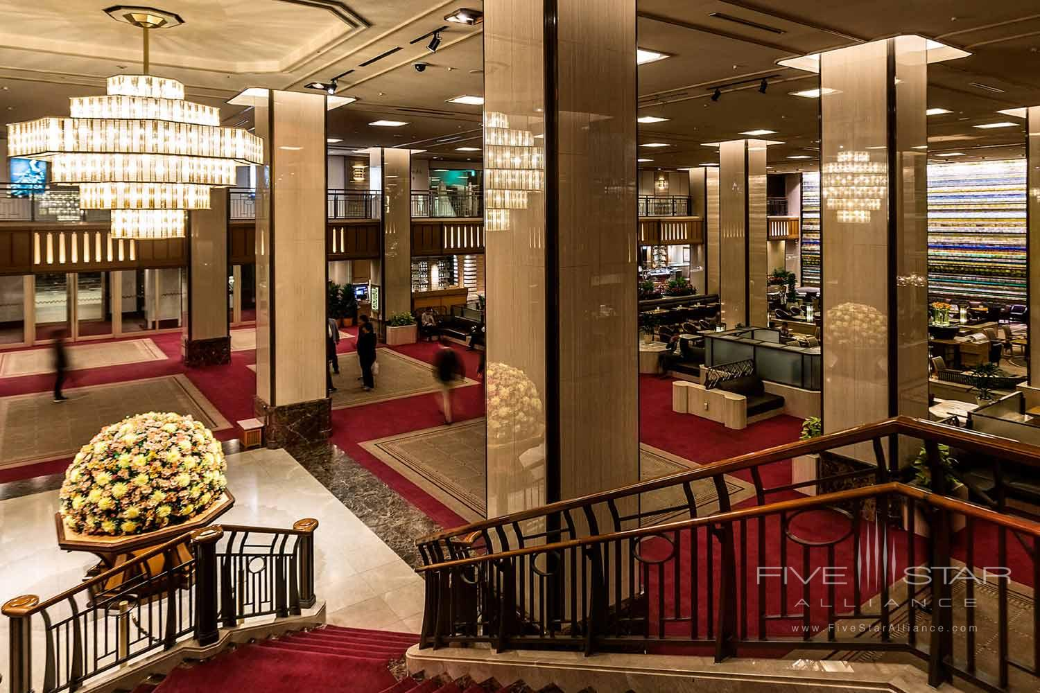 Lobby of Imperial Floors at the Imperial Tokyo, Japan