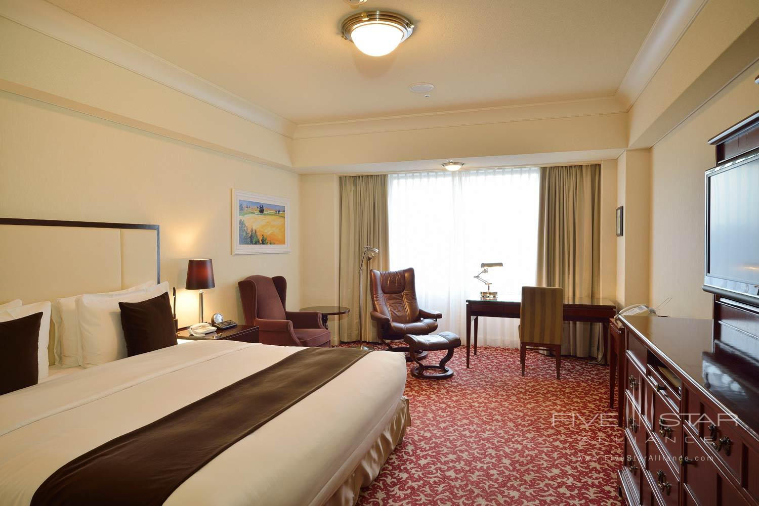 Deluxe Double Guest Room at Imperial Floors at the Imperial Tokyo, Japan