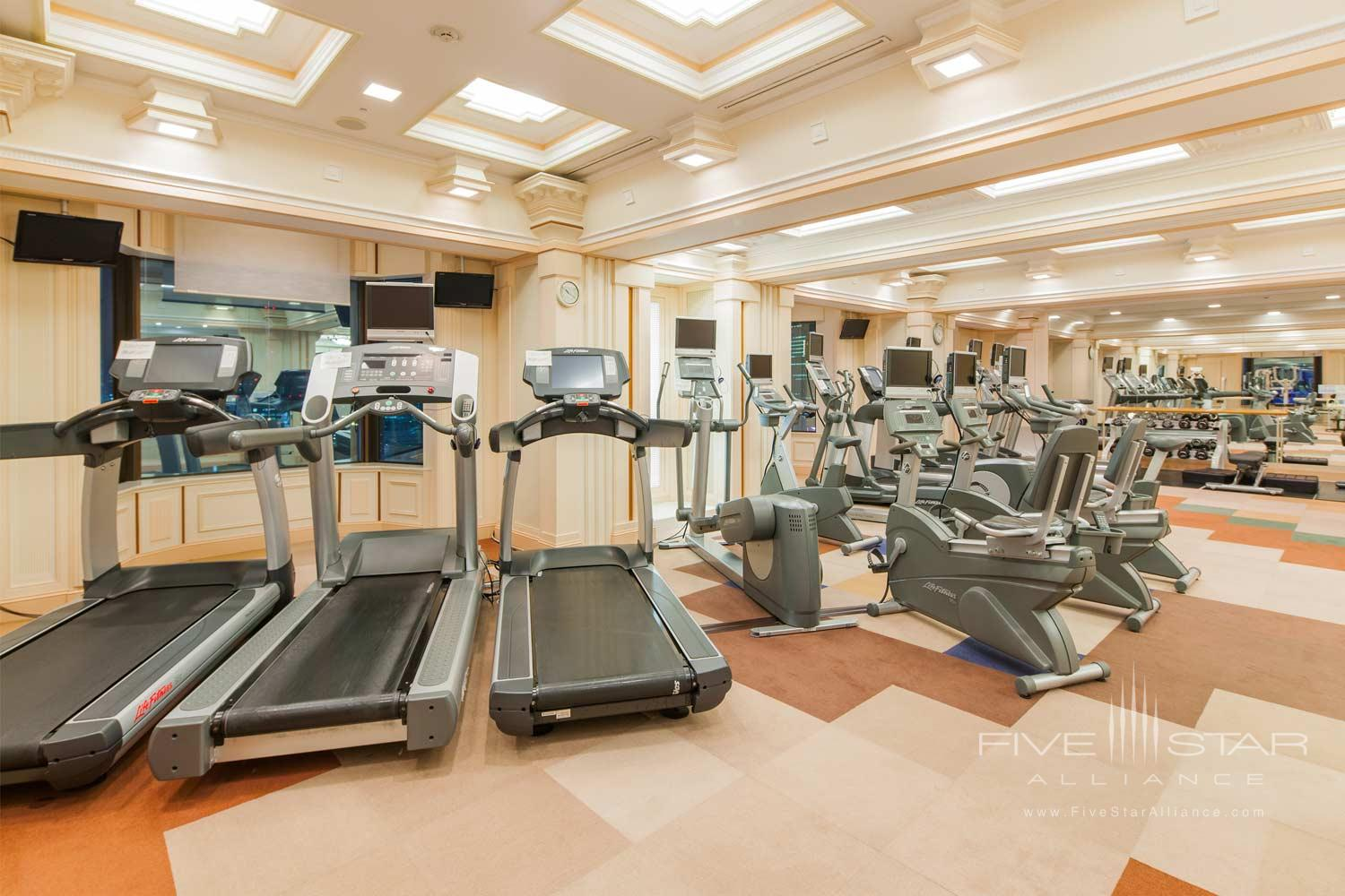 Fitness Center at Imperial Floors at the Imperial Tokyo, Japan