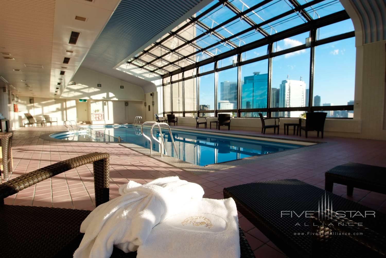 Indoor Pool at Imperial Floors at the Imperial Tokyo, Japan