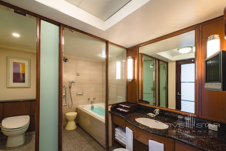 JR Suite Bath at Imperial Floors at the Imperial Tokyo, Japan