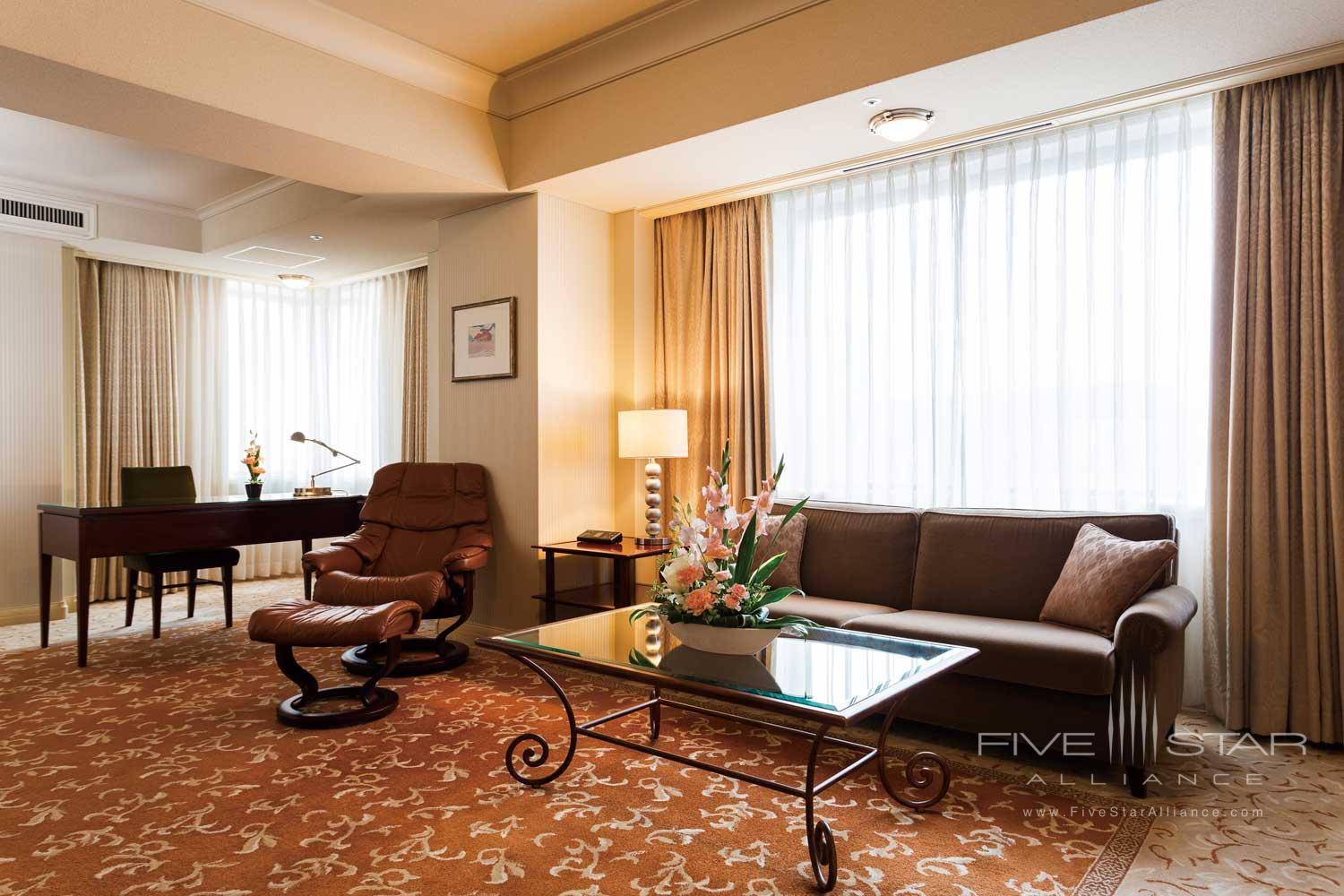 Suite Lounge at Imperial Floors at the Imperial Tokyo, Japan