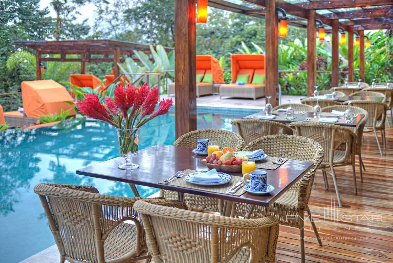 Terrace Pool at Nayara Hotel, Spa & Garden, LA FORTUNA DE SAN CARLOS, COSTA RICA