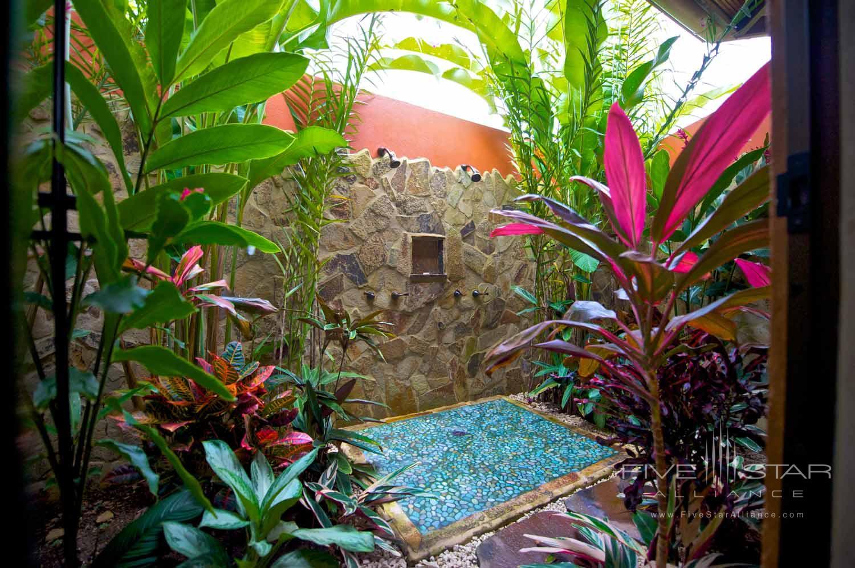 Nayara Suite Shower at Nayara Hotel, Spa & Garden, LA FORTUNA DE SAN CARLOS, COSTA RICA