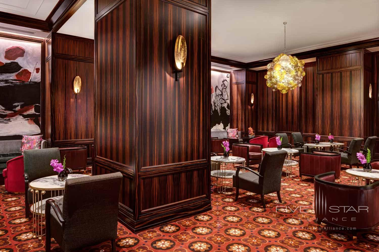 Lounge at The Towers at Lotte New York Palace, United States