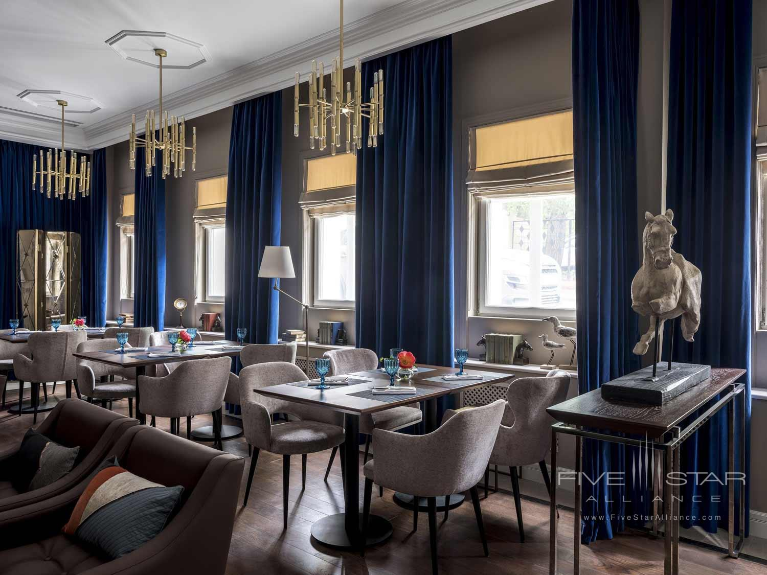Dine at Chekhoff Hotel Moscow, Russia