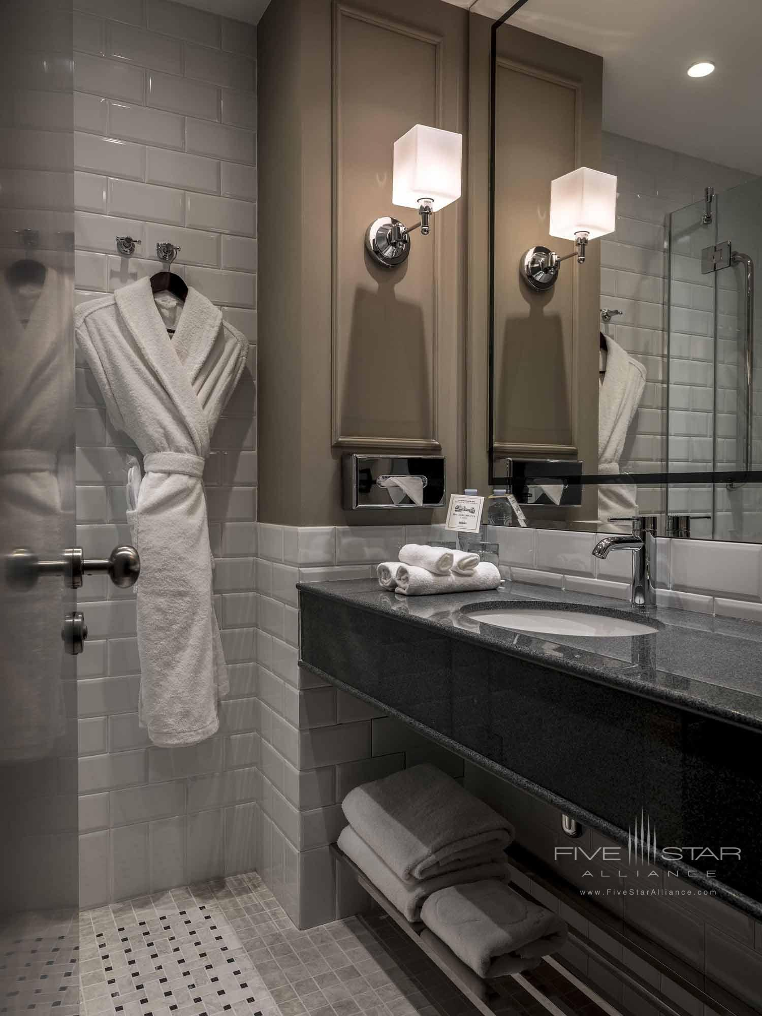 Guest Bath at Chekhoff Hotel Moscow, Russia