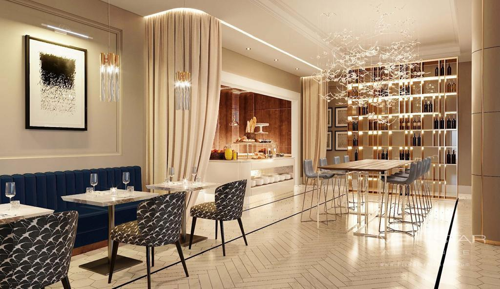 Dine and Bar at Chekhoff Hotel Moscow, Russia