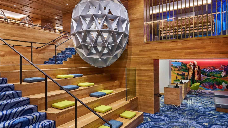 Lobby of W Aspen, CO