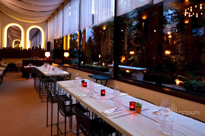 Terrace Dine at Sinner Hotel, Paris