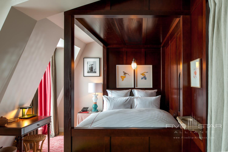 Guest Room at Sinner Hotel, Paris