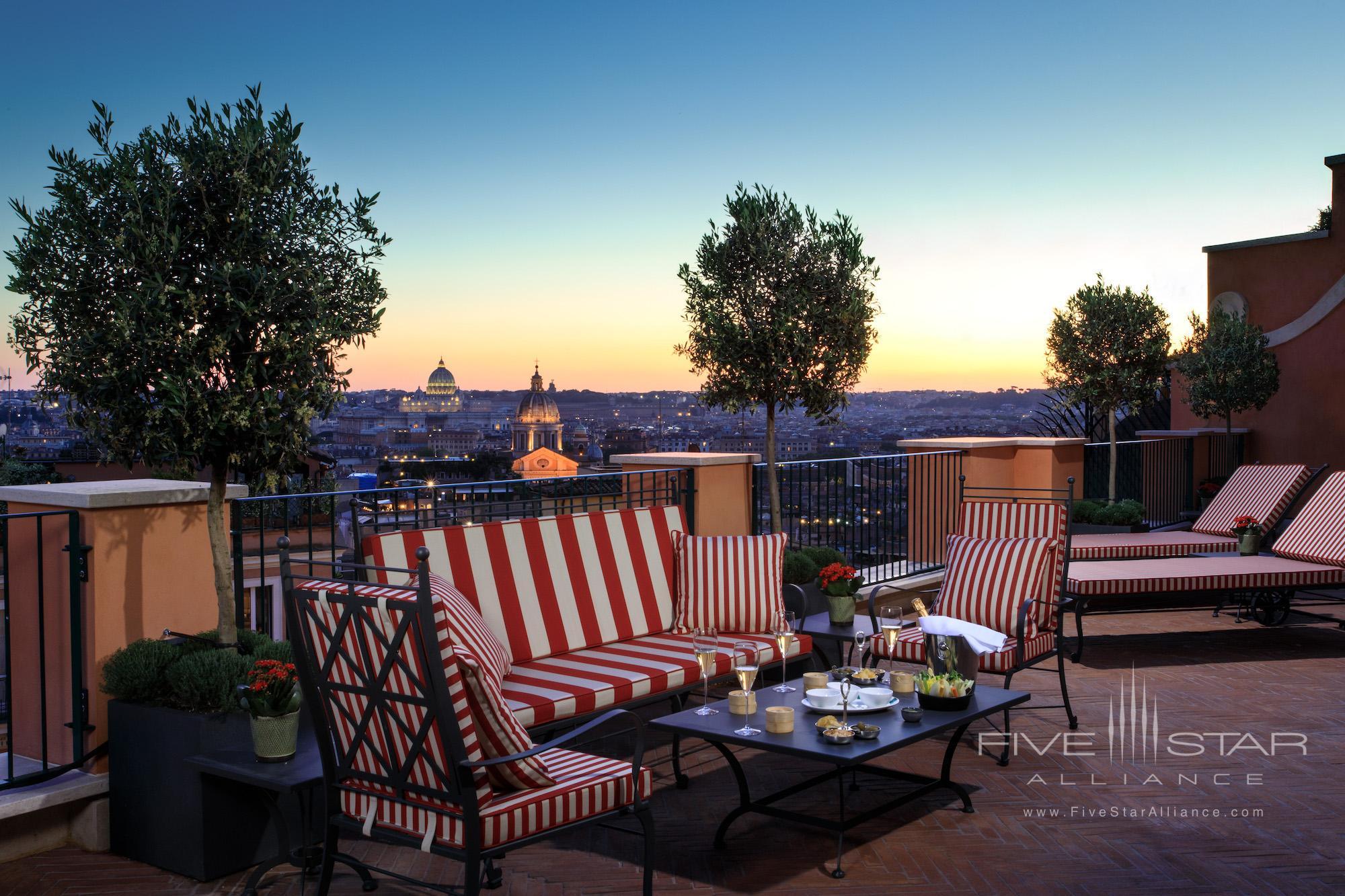 Canova Suite at Rocco Forte Hotel De La Ville