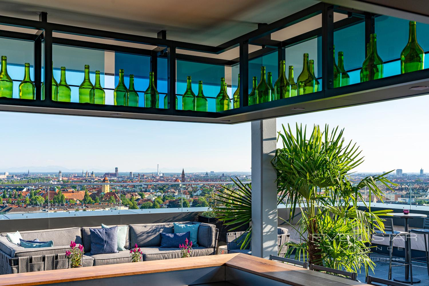 Outdoor Bar/Lounge at Andaz Munich Schwabinger Tor