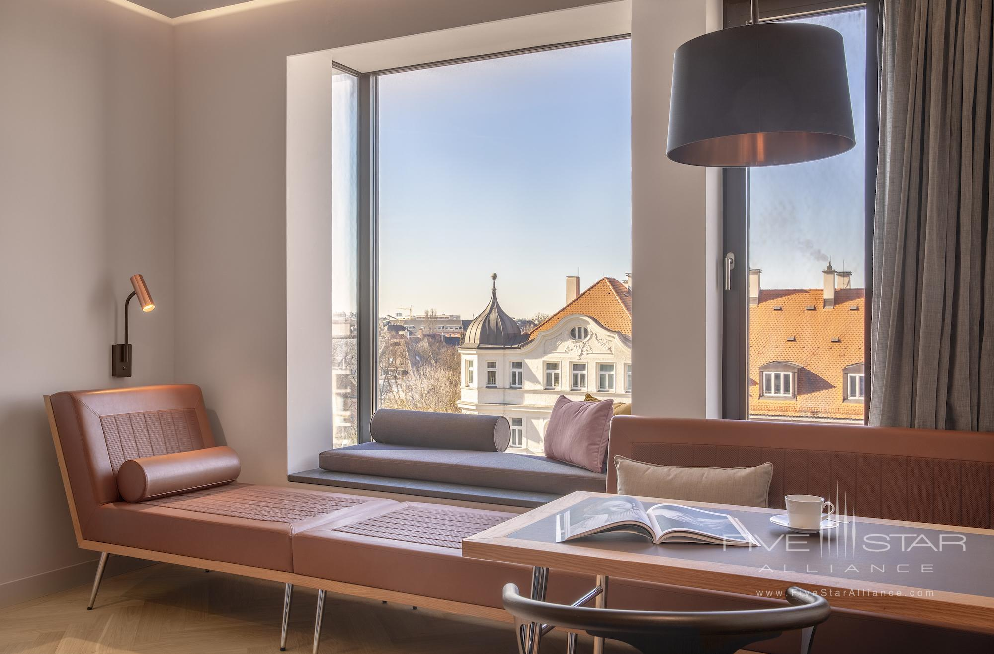Guest room at Andaz Munich Schwabinger Tor