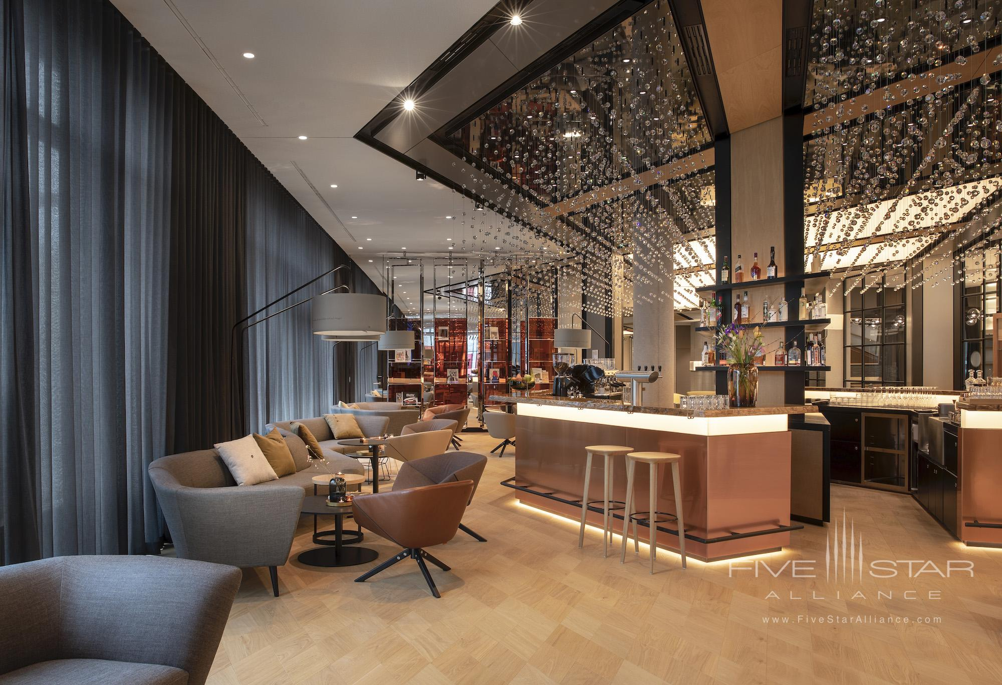 Bar/Lounge at Andaz Munich Schwabinger Tor