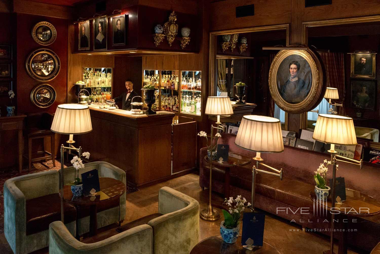 Bar at Hotel de la Ville, Monza, Italy