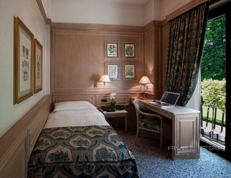 Single Room at Hotel de la Ville, Monza, Italy