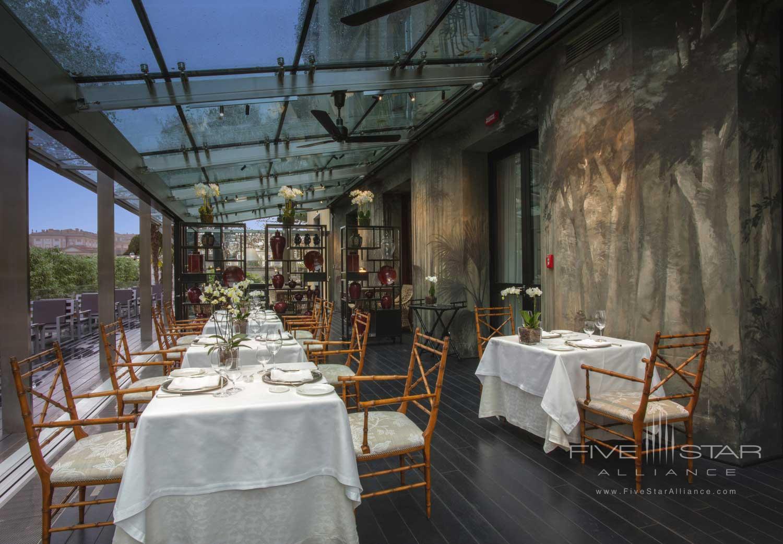 Dine at Hotel de la Ville, Monza, Italy