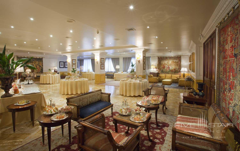 Lounge at Hotel de la Ville, Monza, Italy