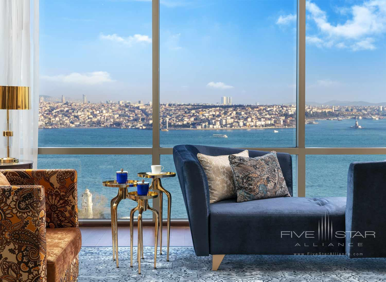 Suite Living at Ritz Carlton Istanbul, Turkey